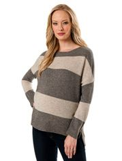 t2 cowl neck maternity sweater dress in gentle pink   The Subtle ...