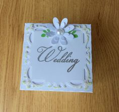 Wedding Arch  Exploding Box Card by LittleSofi on Etsy