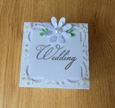 Wedding Arch  Exploding Box Card by LittleSofi on Etsy