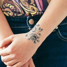 Tattly™ Designy Temporary Tattoos. Made in the USA! — Cartolina Blooms