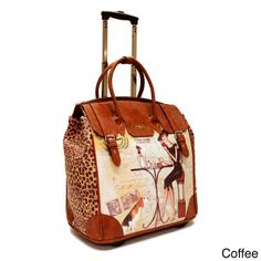 f9e1008c8d9e Nicole Lee Special Print Rolling Laptop Tote Bag - Overstock Shopping - Big  Discounts on nicole lee Rolling Laptop   Tablet Cases