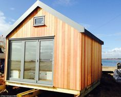 Exclusive: The beach hut is one of 350 at Mudeford which are the most expensive in the cou.