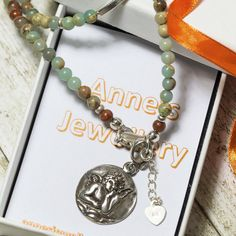 Ready to be delivered in a new elegant gift box! (Impression Jasper)