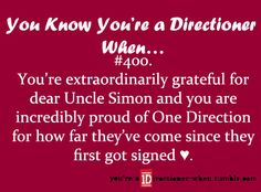 You Know You're A Directioner When