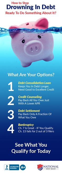 drowning in debt how to get out