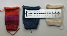 KnittingDaily: Custom Socks: Knitting Socks that Fit. Measuring gauge on sock swatches