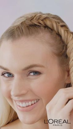 Want to upgrade your ponytail? Create a fishtail pony with our L'Oreal Paris LOCK IT Weather Control Hairspray and Extreme Style Gel! Click the 'visit' button for a full step-by-step tutorial. Braids videos Hairstyle How-to: The Fishtail Ponytail Step By Step Hairstyles, Braided Hairstyles, Cool Hairstyles, Camping Hairstyles, Fishtail Ponytail, Curly Hair Styles, Natural Hair Styles, L'oréal Paris, Hair Videos