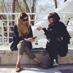 ranian women are using Fashion in protest to wearing hijabs by force . Allowing the wind to blow through your hair is an offence punishable by law for women in Iran. The inhuman Islamic law is enforced pretty heavily and many woman are arrested or fined by police if they fail to cover up with the attire considered appropriate. But brave ladies are rebelling against the law which they feel is outdated and unfair.