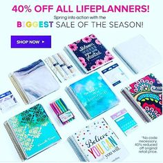 If you were still waiting wait no more!! It's 40% off!!! Use the link in my bio to get another $10 off if you are a first time buyer  #erincondren #eclifeplanner #erincondrenvertical #erincondrenhorizontal #erincondrenhourly #erincondrendiscount #plannerlove #plannernerd #planners2016 #planneraddict