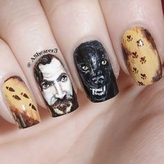 Harry Potter Nails Art Harry Potter Nail Art Ideas That Are Pure Magic Source by megandcraig. Harry Potter Nail Art, Harry Potter Nails Designs, Harry Potter Makeup, Mundo Harry Potter, Harry Potter Style, Nail Art Diy, Cool Nail Art, Diy Art, Maquillage Harry Potter