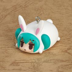 Vocaloid Miku Bunny Animal Charm Mascot Phone Strap