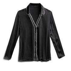 Stitch Fix Fall Stylist Picks: Black Pajama Style Top