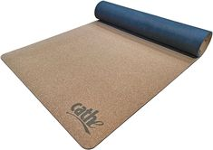 Cathe Lay-Flat Premium Natural Cork Extra Thick Exercise & Yoga Mat - Made From 100% Natural Cork and Natural Rubber - 5.5mm Thick and Extra Long 72 by 24 inches. #cathe #cathefriedrich #yogaexercisematamazon #yogaandexercisemat #bestyogaexercisemat #exercisematforyoga #yogaexercisemats #fitnessmatforyoga#yogaworkoutmats #nonslipyogaexercisemat #thickyogaexercisemat #corkyogamat #hebestcorkyogamat #naturalrubbercorkyogamat #corkandnaturalrubberyogamat #corkyogamats #layflatmatsmats… Cathe Friedrich, Floor Workouts, Mat Exercises, Natural Rubber, Best Yoga, No Equipment Workout, Yoga Fitness, Cork, Flat