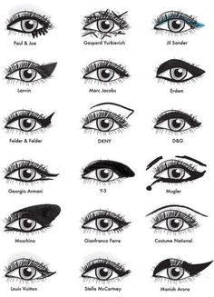 designer eye makeup tips