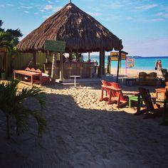 Margaritaville Negril beach Jamaica Fin's Up!