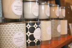Sweet Petula: Kobo Soy Candles packaging