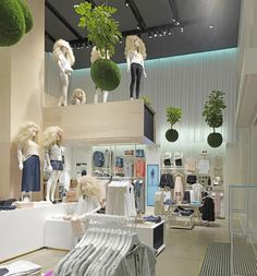 Vero Moda flagship store by Riis Retail, Aarhus   Denmark store design