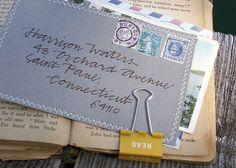 sewn edge envelope