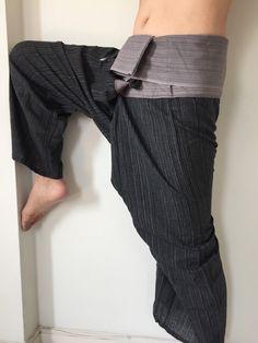 f2281aafa7 Thai Fisherman Pants, Yoga Trousers, Comfy Pants, My Etsy Shop, Pregnancy