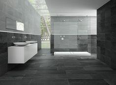 kleines-bad-einrichten-badfliesen-modern-weiß-grau.jpg 600×883 ...   {Bad modern weiß 78}
