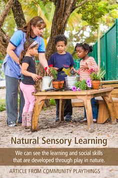 As educators we are often asked about kindergarten readiness by nervous parents, looking to give their children the best in an early childhood program. It is important that parents understand the vast amount of learning that is available when children are connected to nature. Young children learn primarily through their senses...Read the full article.