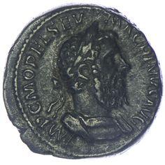 Macrinus Denar Silber  Rom