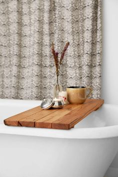 Peg And Awl Reclaimed Wood Tub Caddy from Urban Outfitters. Shop more products from Urban Outfitters on Wanelo. Living Room Furniture, Home Furniture, Wood Tub, Apartment Essentials, Apartment Ideas, Apartment Living, Decoration, Cleaning Wipes, Tea Lights