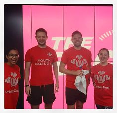 The Four Marketeers from the #Digital #Marketing dream team. Cheers Jack, Warren and Becci! 🚴🏽  #Work #Digital #Marketing #Spin #Cycle #Event #Fundraising #Charity #VirginActive #YouthCanDoIt #YoungPeople