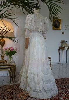Romantic Tea Gown, ca. 1899