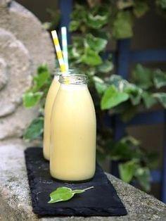 Smoothie au lait de coco : Recette de Smoothie au lait de coco - Marmiton