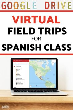 Need some ideas for virtual field trips in your Spanish classroom? Check out these lesson plans and activities to help your classes explore Spanish-speaking countries! These virtual field trips for Spanish class are great sub plans and work well to explore holidays and cultural celebrations. Your middle school and high school students will love this fun activity! Click for a FREE download to try with your students! Spanish Lesson Plans, Spanish Lessons, Spanish Activities, Class Activities, Spanish Classroom, Teaching Spanish, Google Drive, Teaching Culture, How To Speak Spanish