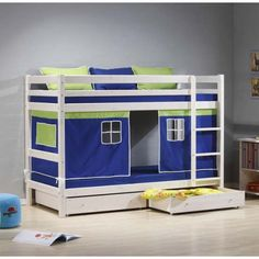 Scandinavian House Ltd Stompa Minnie Solid Pine White Storage Bunk Bed kids bunk beds http://www.comparestoreprices.co.uk/bunk-beds/scandinavian-house-ltd-stompa-minnie-solid-pine-white-storage-bunk-bed.asp