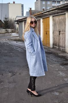 ALL ABOUT SECOND HAND: Baby blue