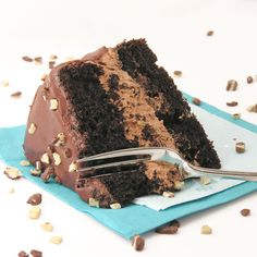 Andes Mint Layer Cake!!! : easybaked.com
