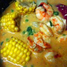 Menu of rice: Peruvian-Style Shrimp and Rice Chowder