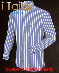 Design Custom Shirt 3D $19.95 herenmode Click http://itailor.nl/shirt-product/herenmode_it96-1.html