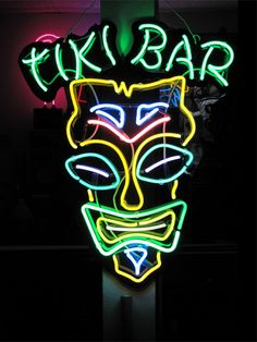 Neon Tiki Bar  ~Repinned Via Nathalie Foppen http://www.lightadotneon.com/images/tiki.jpg