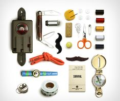 Surprise the chip off the old block or just re-connect with your inner child by picking up the Summer Camp Care Kit ($145) from Best Made Company. Jam-packed with a horde of nostalgic treasures including Latex slingshot tubing, a four way vintage Swiss army flashlight, a three blade whittling knife, an engineer's compass, a 45x mini-microscope, a kazoo, a bag of fake mustaches, a fire starter, a 12 piece sewing kit, a 288 page US army survival field book, and one mystery prize — it has…
