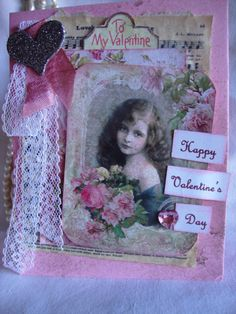 Victorian Valentine Greeting  Romantic by AshbrookeSalutations