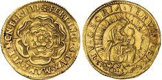 "NumisBids: Numismatica Varesi s.a.s. Auction 65, Lot 410 : MANTOVA - FERDINANDO GONZAGA (1612-1626) Zecchino ""della rosa"". D/..."