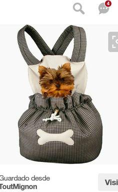 Yorkies, Dog Sling, Dog Bag, Dog Items, Dog Carrier, Pet Carriers, Dog Costumes, Animal Fashion, Dog Dresses