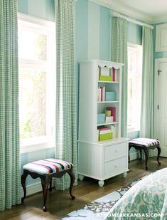 Tobi Fairley Interior Design via At Home in Arkansas