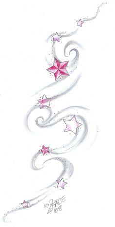 Star Tat Design shading by 2Face-Tattoo.deviantart.com on @deviantART