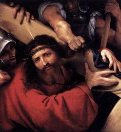 Der Kreuzweg von Lorenzo Lotto (Detail)