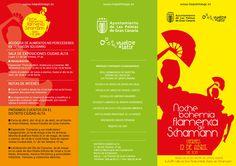 (1/2) Noche Bohemia Flamenca de Schamann, en la calle Pedro Infinito, el viernes 12 de abril de 18:00 a 24:00 horas, apertura de los comercios y restaurantes de la zona, actuaciones musicales, de baile, pases de modelos de trajes flamencos y un Rincón solidario para la recogida de alimentos para las familias más necesitadas del Distrito, con el objeto de dinamizar la economía del barrio. #LPGC