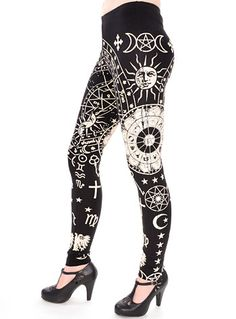 Astrological Zodiac Leggings at PLASTICLAND