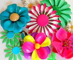 Vintage Flower Enamel Pin Lot100 | Flickr - Photo Sharing!