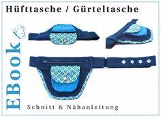 EBook Hüfttasche / Gürteltasche von winfine auf DaWanda.com