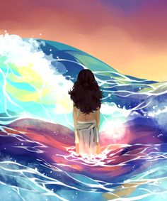 Aang Katara Zuko Sokka Korra sky water wave sea what if Katara was the Avatar? Avatar Aang, Zuko And Katara, Avatar The Last Airbender Art, Team Avatar, Avatar Fan Art, Avatar World, Water Tribe, Fanart, Avatar Series
