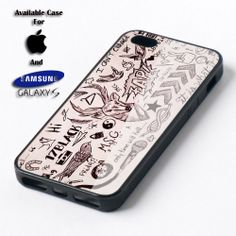 One Direction Tattoos Blue Romantic for case iPhone by MamaSuka, $11.99